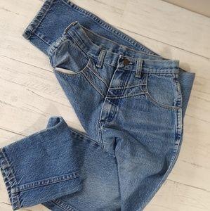 VTG Wrangler Western High Rise Wedgie Mom Jeans